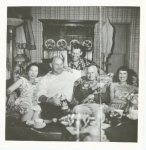 Left to right, Harriet Smith, Charles A. Smith, Bert Goodrich, Earle Edwin Liederman, and unidentified lady.