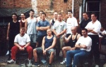 The crew at the 2001 British Grip Championships. 