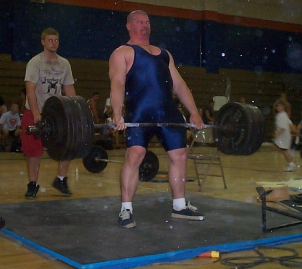 650 pounds in the deadlift--in the current days of power