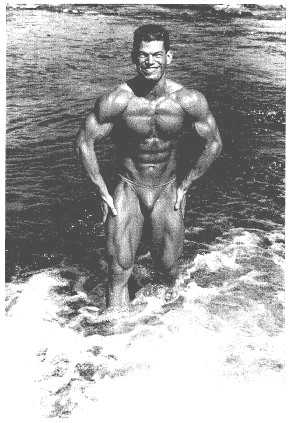 In the bodybuilder days...