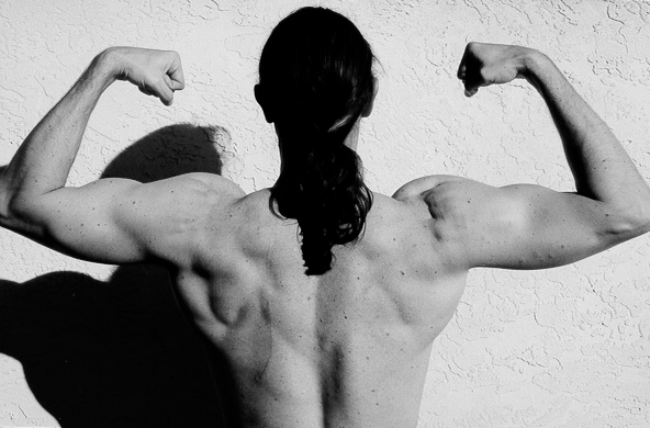Explosively developed back.