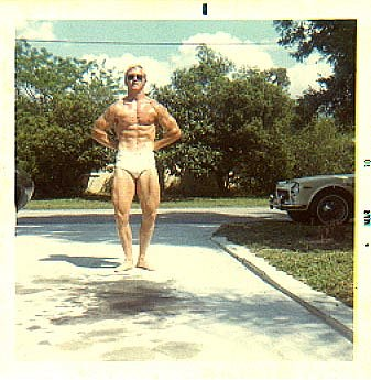 Should he enter Mr. Florida?  Circa 1970s.