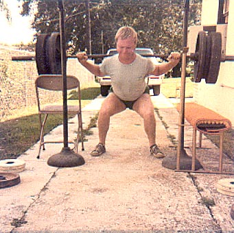 Classic Squatting.