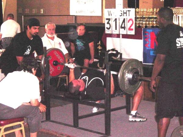 314.2 lb bench press