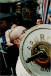 Gary Hunt seated hammer curl