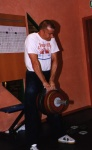 Mikael Siversson pinching 82 kg on a 70 mm width set up.