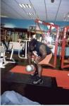 Mark Henry lifting the MDB.
