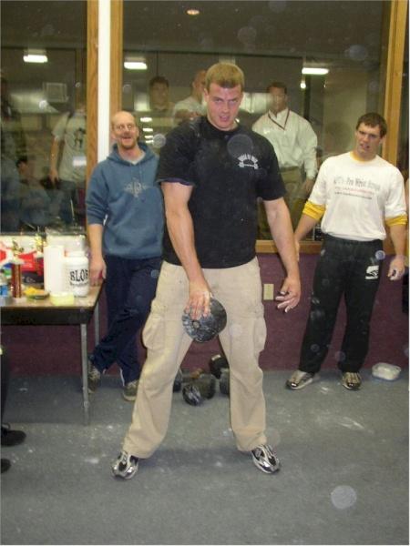 Blob Lifter 21 yr. old Dave Ostlund