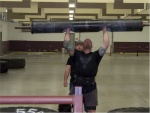 Brian Carlton: 210lb log lift