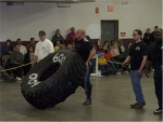 Brian Carlton: 600lb tire flip