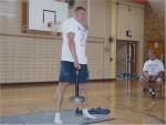 Aaron Boesch- 35 lb. Hub-style lift