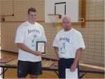 David Ostlund- 1st place overall winner of Feats With Hands 2003